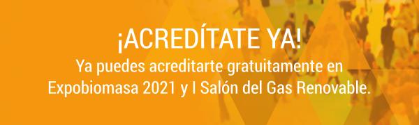 Acredítate en Expobiomasa 2021 del 21 al 23 de septiembre